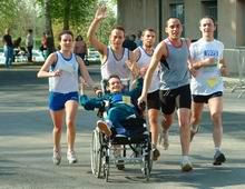 partecipanti in corsa